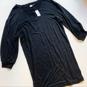 GAP Black Long Sleeve Dress NWT Small